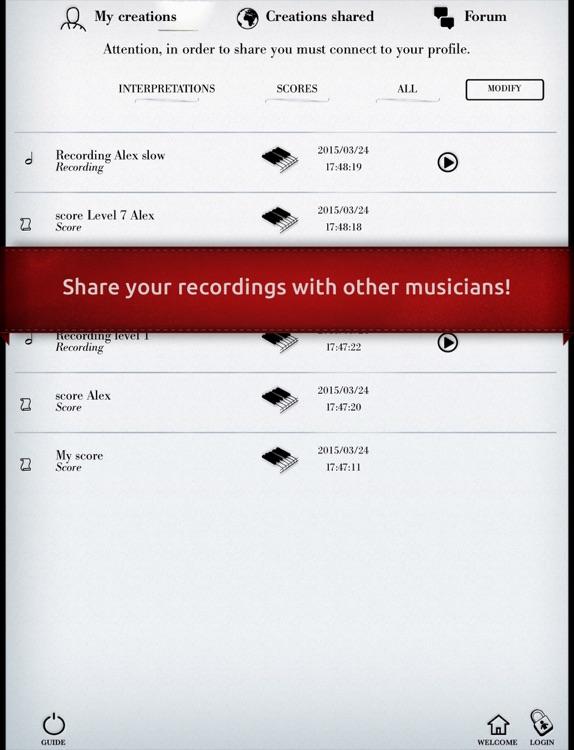 Play Debussy – Arabesque No. 1 (interactive piano sheet music) screenshot-4