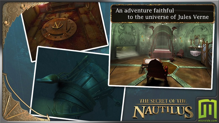 Jules Verne's Mystery of the Nautilus (Universal) screenshot-0