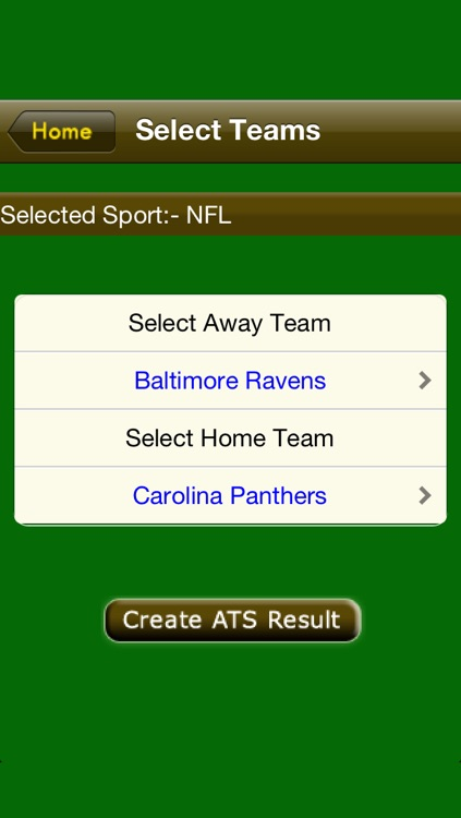 ATS Calculator-Sports Predictions Software