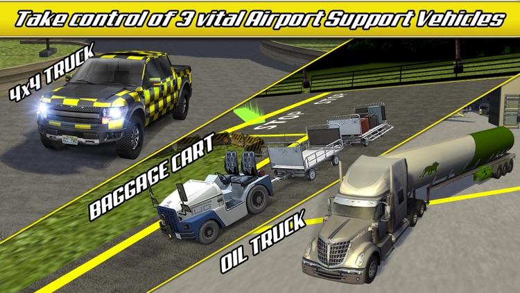 Airport Trucks Car Parking Simulator - Real Driving Test Sim Racing Games