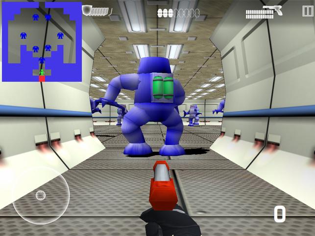 Berzerker Botz, game for IOS