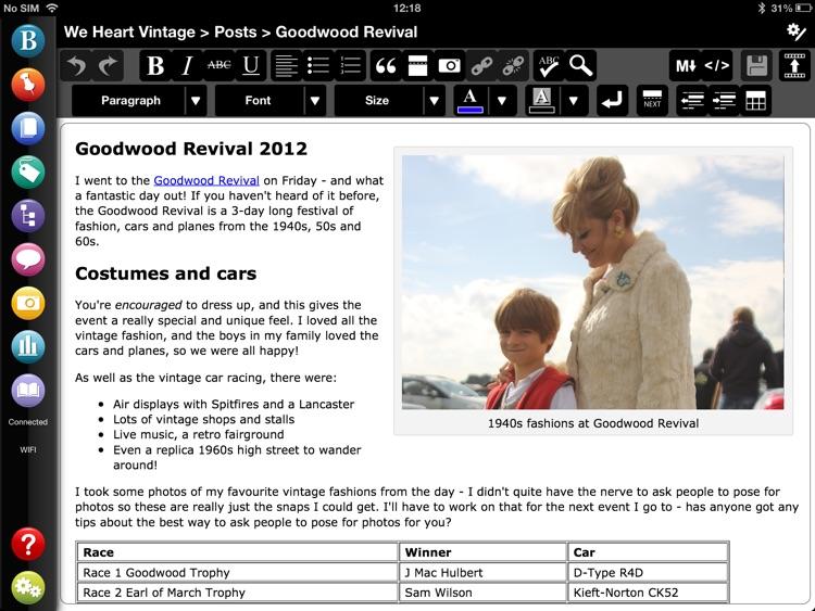 BlogPad Pro for WordPress & Blogger
