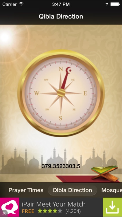 Worldwide Muslim Prayer Times - Islamic Compass