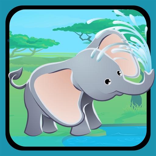 Активный! Калибровка Игра Для Детей, Чтобы Учиться И Играть С Животными Джунглей