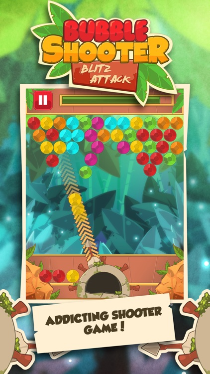 Bubble Shooter Attack: Blaster Popper Puzzle Game