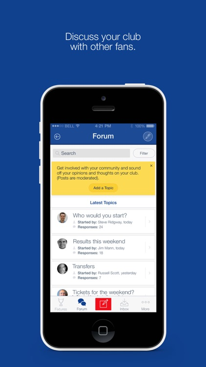 Fan App for Gillingham FC