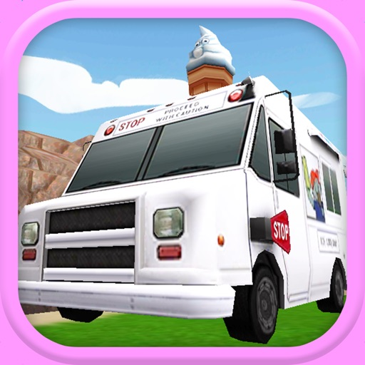 An Ice Cream Truck Race: 3D Driving Game - FREE Edition icon