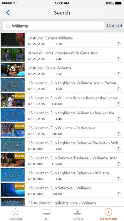 Tennis Channel Everywhere screenshot-4