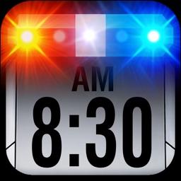 Police Car Alarm Clock