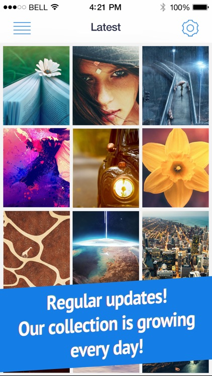 Wallpapers for iPhone 6 and 6 Plus (Retina HD ready parallax backgrounds) screenshot-3