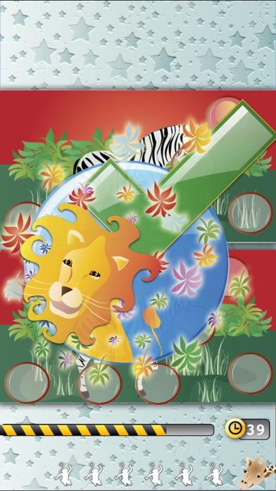 動物間違い探し:探してみよう!ジャングルのスクリーンショット1
