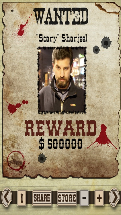 Most Wanted Poster Generator Pro