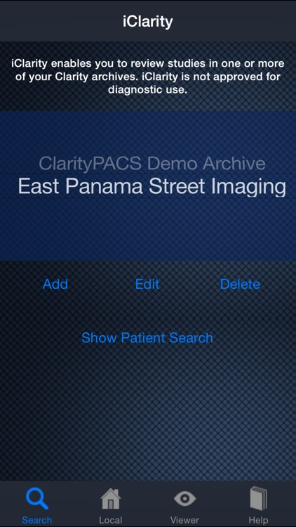 iClarity: Advanced Medical Imaging Viewer and Image Management Tool screenshot-1