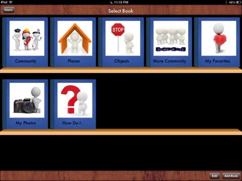 i Get... My Community Vocabulary Photo Books-ipad-1
