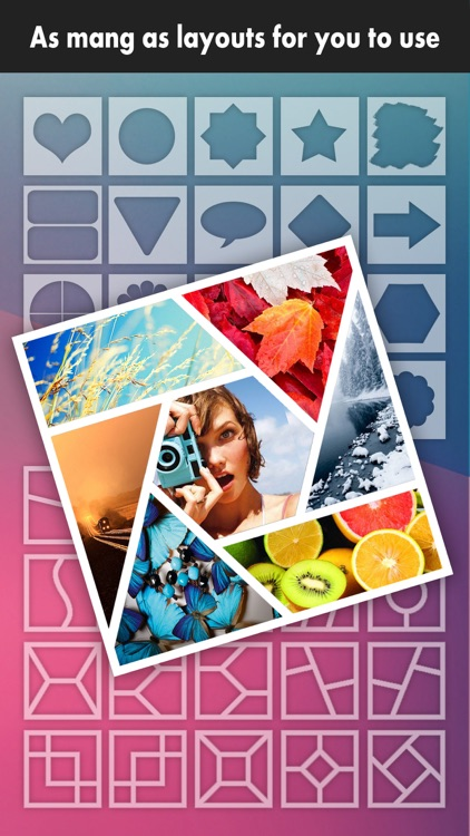 Frame Moment Pro - Grid Editor to collage & crop your photos on instagram screenshot-0