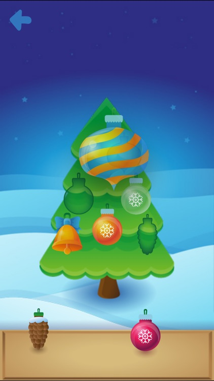 Xmas Tree for Kids Free screenshot-1