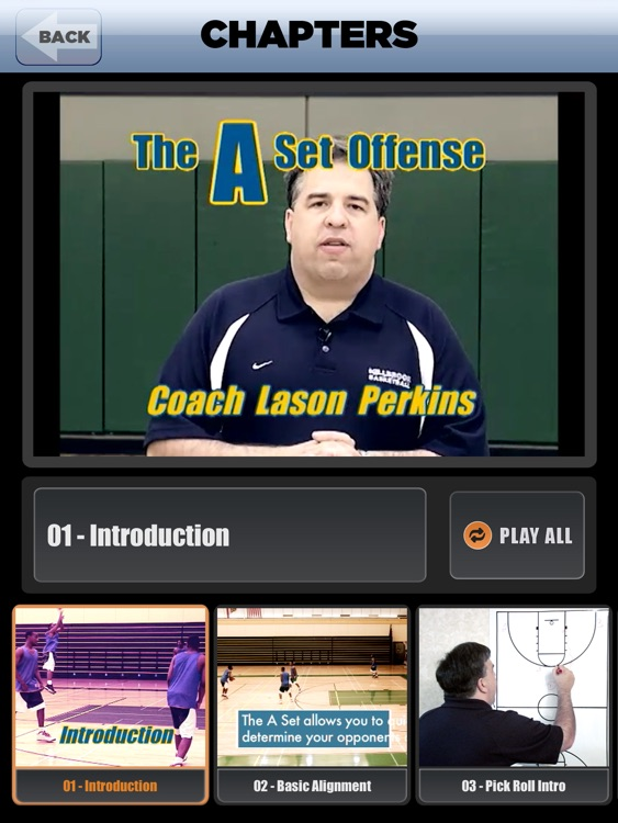 The A Set Offense: Scoring Playbook - with Coach Lason Perkins - Full Court Basketball Training Instruction - XL