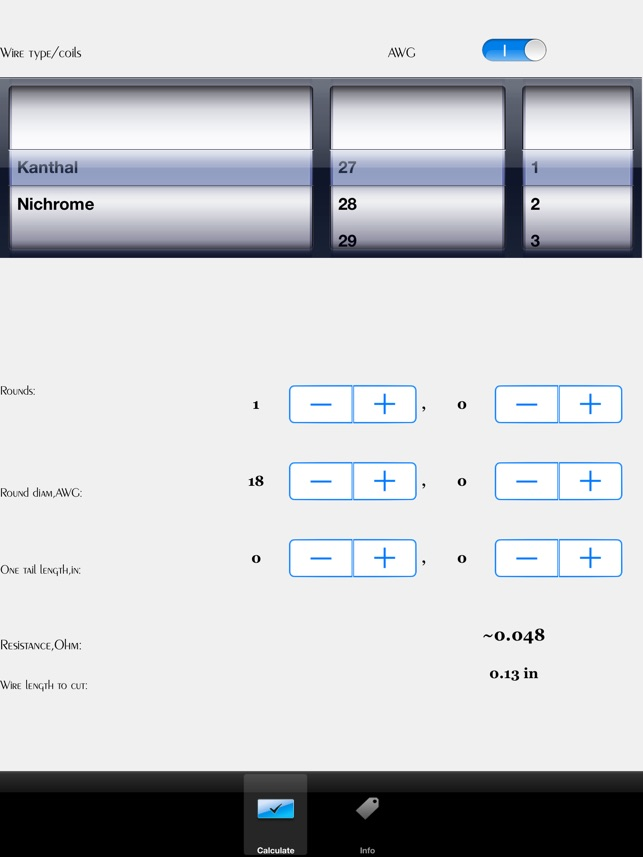 Coil Calculator im App Store