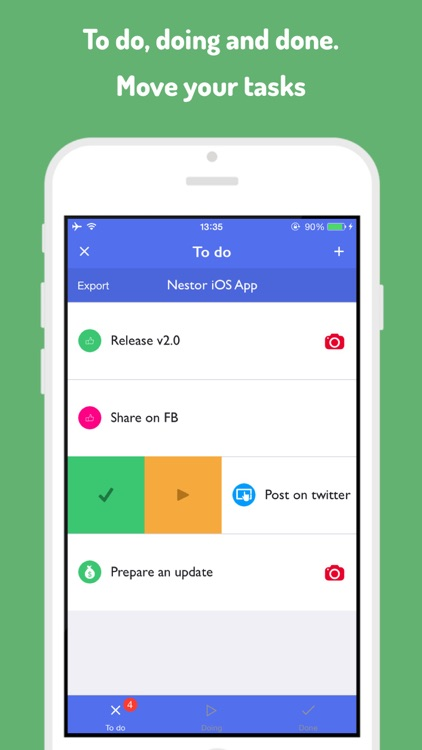 Nestor To-Do Lists: The task board that makes your life easier