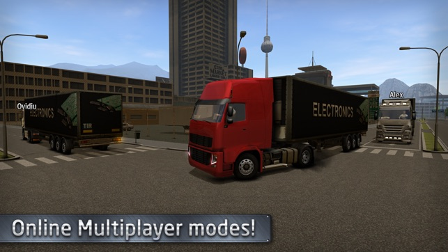 Euro Truck Driver (Simulator) on the App Store