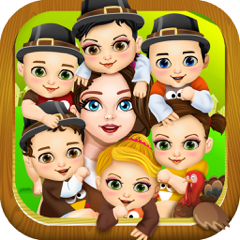 Mommy's Newborn Babies Salon- My Holiday New Baby Make-Up & Little Girl Makeover Games for Kids