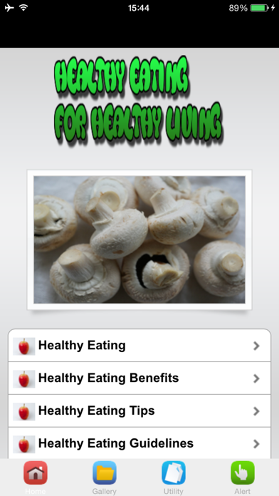 Healthy Eating For Healthy Living screenshot two