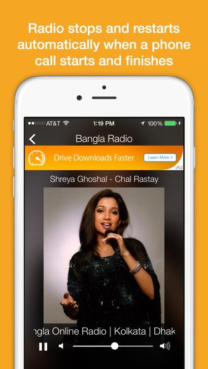 Bangla Radio - Top FM stations screenshot-3