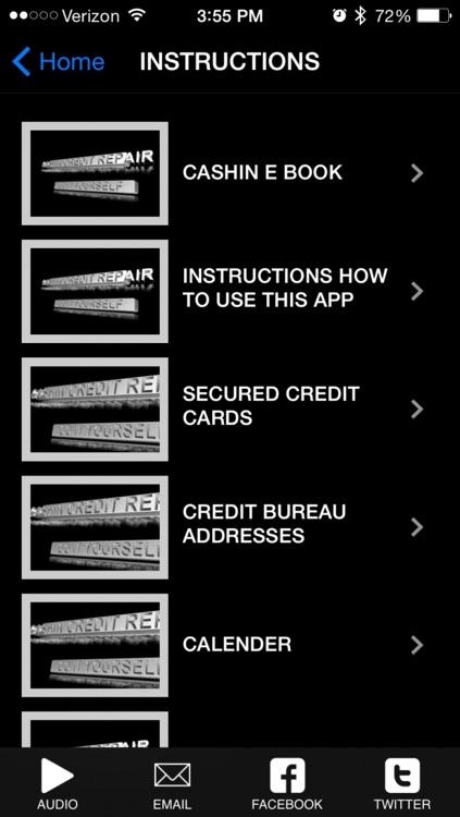 Cashin Credit Repair- Do it Yourself™