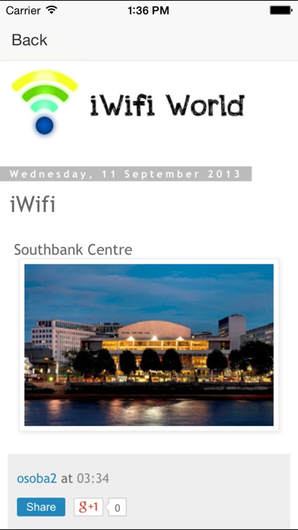 iWifi World screenshot-1