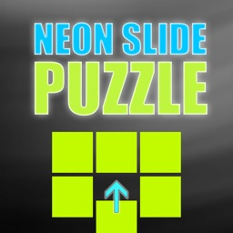 A Crazy Neon Lights Slide Puzzle Game