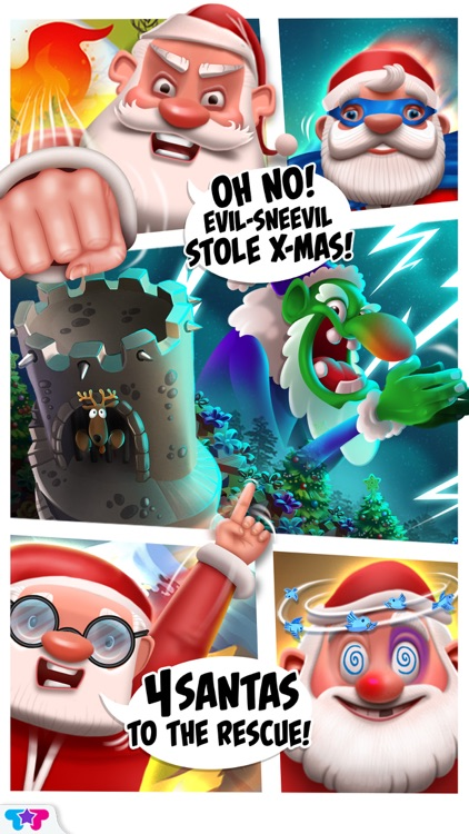 X-mas : The 4 Santas screenshot-0