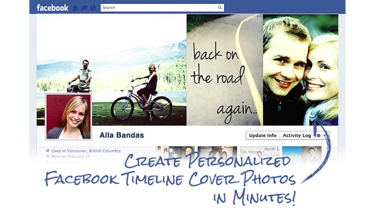 Timeline Cover Photo Maker Free - Design and create your own custom Facebook profile page covers that reflects your personality!