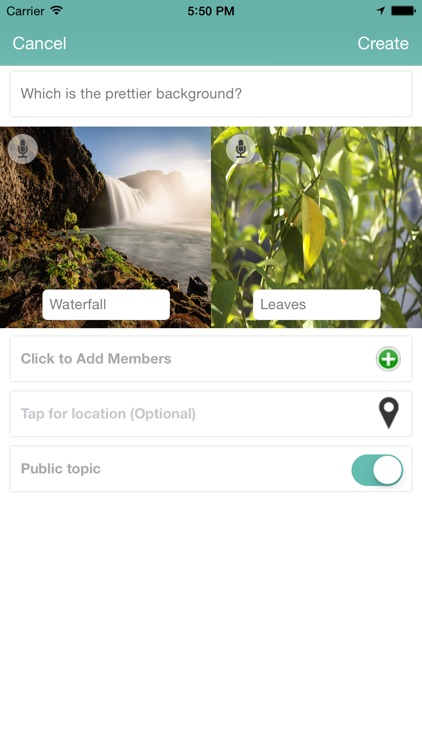 VIE : Video, Images, and Entertainment Polls and Battles screenshot-3