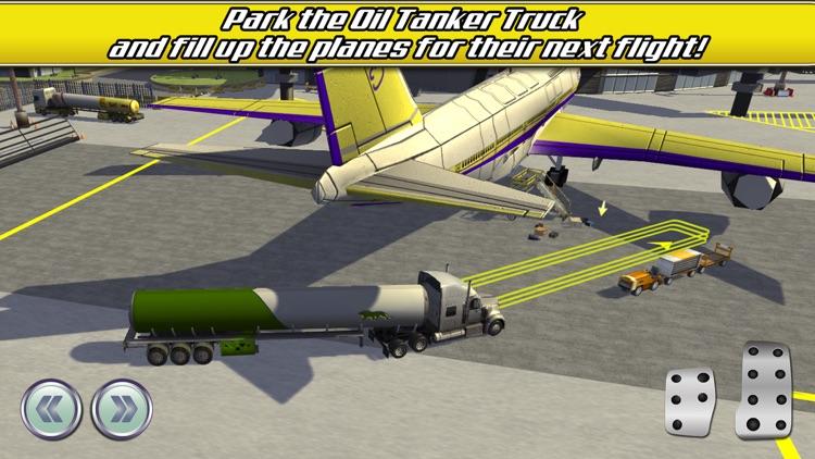Airport Trucks Car Parking Simulator - Real Driving Test Sim Racing Games screenshot-3