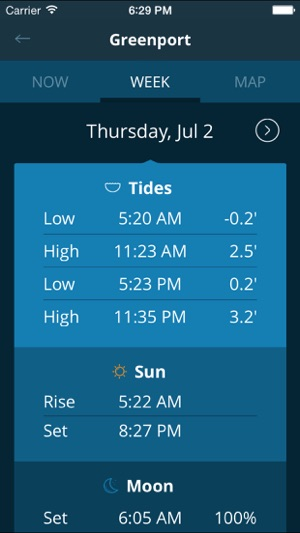 Tides Near Me Free On The App Store