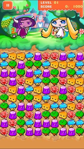 アンちゃんとお菓子の女王 ~簡単パズルゲーム~のスクリーンショット2