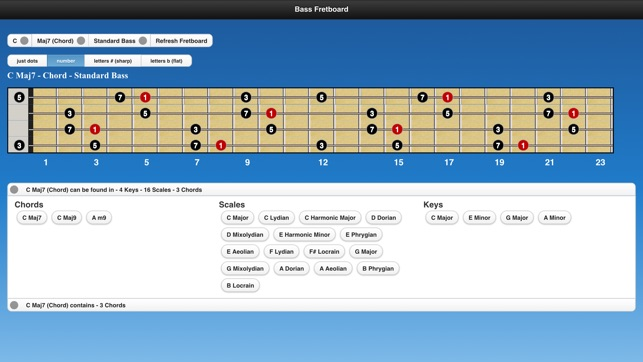 Bass Chords and Scales on the App Store