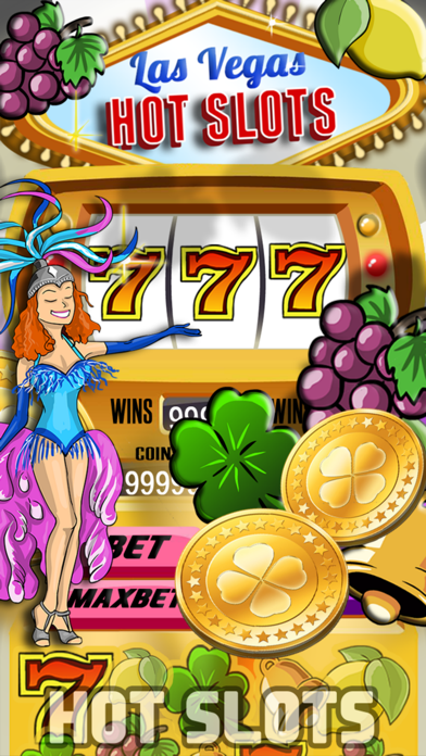 Las Vegas Hot Slots - Hit The Lucky Triple Seven To Win The