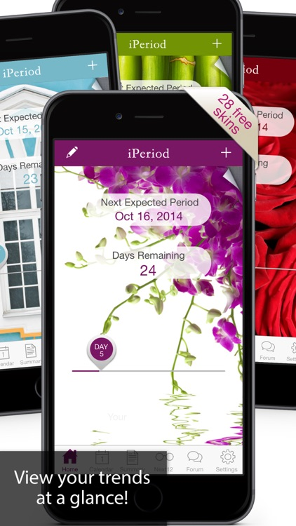 iPeriod Period Tracker Ultimate / Menstrual Calendar screenshot-3