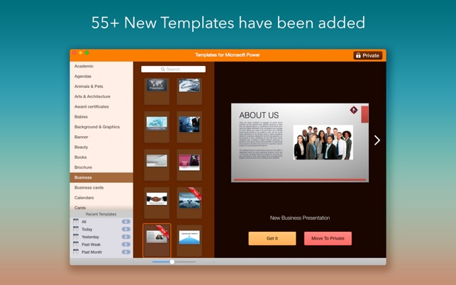 Templates for microsoft powerpoint on the mac app store templates for microsoft powerpoint on the mac app store toneelgroepblik Image collections