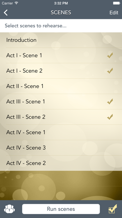 Scene Study screenshot