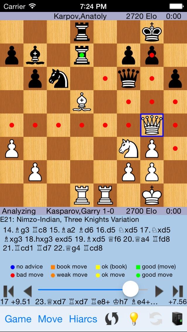 HIARCS Chess Скриншоты4