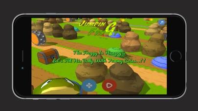 点击获取The Jumping Froggy Jump & Run Collecting Coins Game Free For iPhone, iPod Touch & iPad