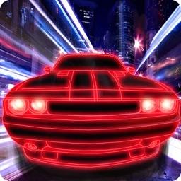 Simulator Neon Car