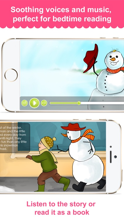 The Snow Man - Narrated classic fairy tales and stories for children