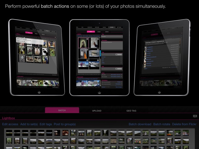 Flickr Studio Screenshot