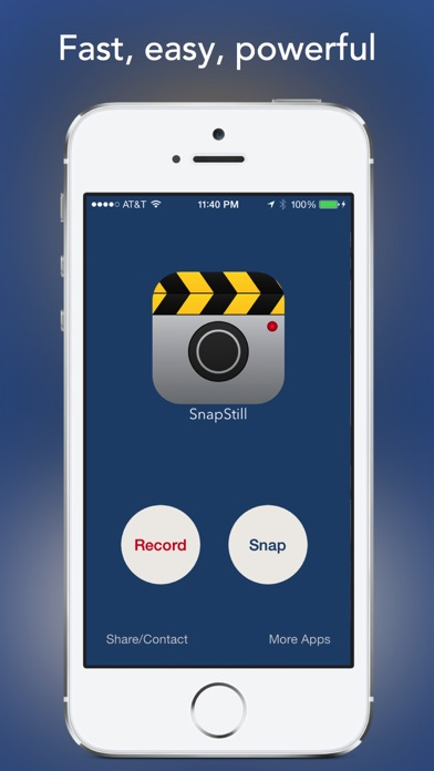 SnapStill - Extract Photos From Video app image