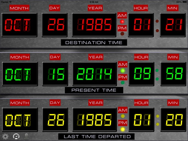 Back to the future travel dates About the Back to the Future Countdown to October 21,