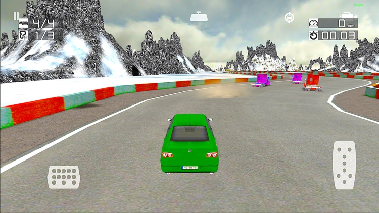 The Chase Racing : Realistic 3D lorry and Car driver racing game
