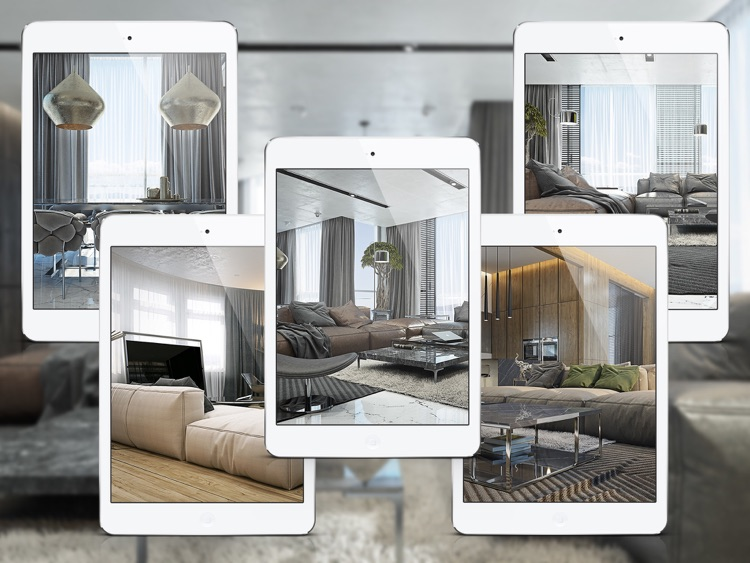 Modern Apartment Decorating Ideas for iPad screenshot-3